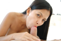 Attractive Filipina with pretend knockers will get pussy pummeled in lodge