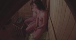 Beginner 3 Ladies Spied in Sauna