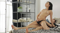 Teenager fucking with a creampie