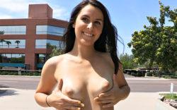 Alannah nude in public