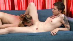 Sizzling lesbians play with toys and make every different so rainy!