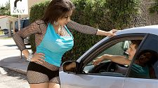 Alexis Silver Is A Huge-chested Workin' Damsel