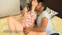Wooly Simone Delilah getting some interracial act