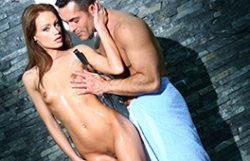 Sultry shower hookup