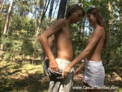 Hookup in the forest