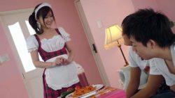 Spectacular female servant is doing a good job each time