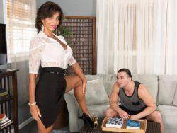 Lyla copulates her bf's son