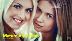 Aged Attractiveness Scene 1 Blissful Lena Enjoy Violette Pinkish