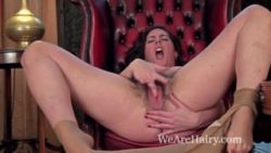 Wooly chick Sharlyn loves making a personal movie