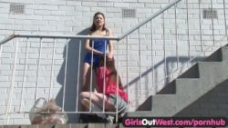 Insatiable lesbo vulva and anilingus