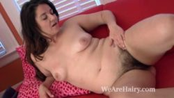 Furry girl Maxine Holloway eventually massages down