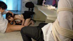 Nice office dame got smashed after work