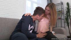Informal intercourse with stunning teeny