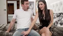 Crazy India bonds with her step son Jesse's rock hard prick.