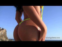 Suelyn on the beach