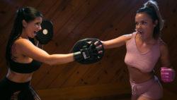 Lesbo Workout Stories: Going Stiff