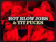 Hawt Deep-throat Jobs & Jug Copulates