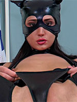 Magnificent catwoman Angie Moon