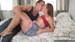 Aroused teeny desires intercourse now